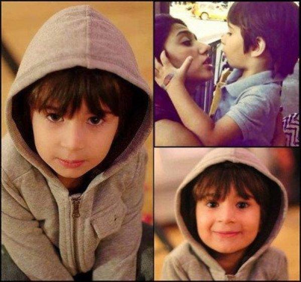 Mahira Khan son