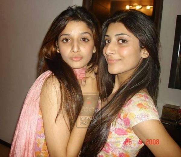 Mawra Hocane and Urwa Hocane without makeup
