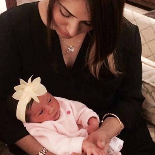 Mehreen Raheel daughter