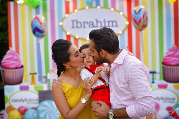 See Pictures from birthday party of Momal Sheikh's son