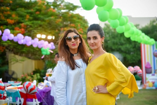 Pictures from birthday party of Momal Sheikh's son (13)