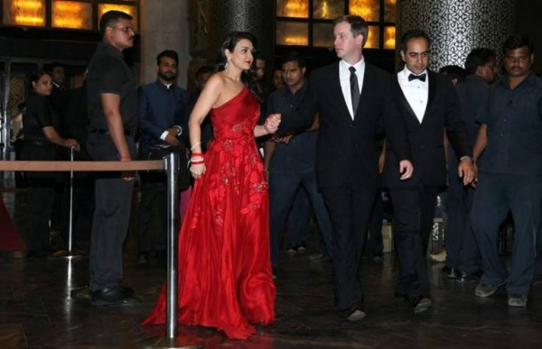 Preity Zinta and Gene Goodenough's reception Pictures (2)