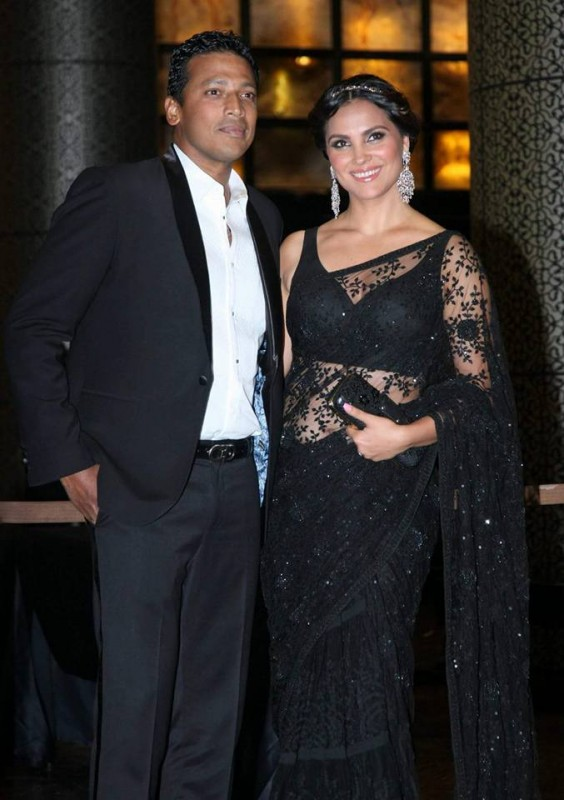 Preity Zinta and Gene Goodenough's reception Pictures (7)