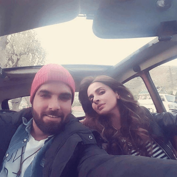 Saba Qamar and Yasir Hussain photo