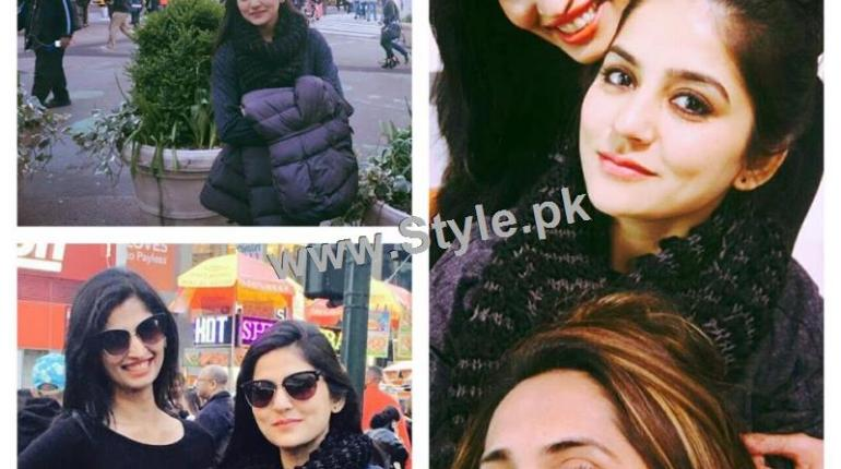 See Sanam Baloch is enjoying her vacations in USA
