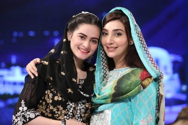 Amian Khan with Ayesha Khan