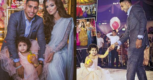 Amir Khan Daughter Birthday