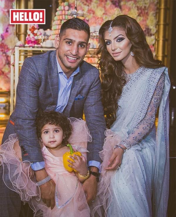 Boxer Amir Khan Daughter Birthday