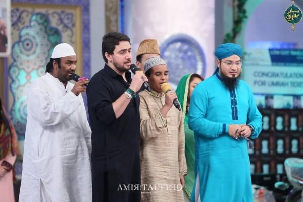 Amjad Sabi's son in Ramzan Transmission (12)
