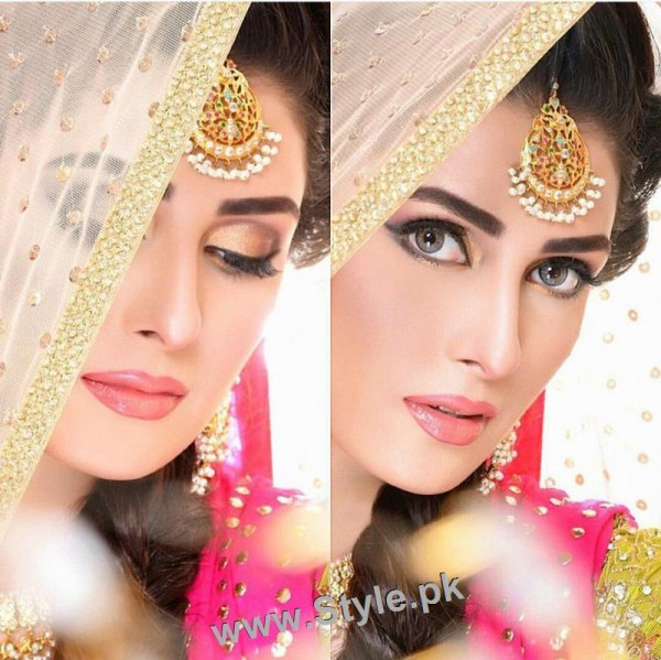 See Ayeza Khan's latest bridal photoshoot