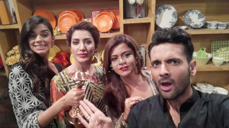 Pakistani Celebrities having fun
