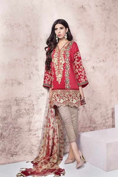 Ethnic by Outfitters Eid Dresses 2016 For Women001