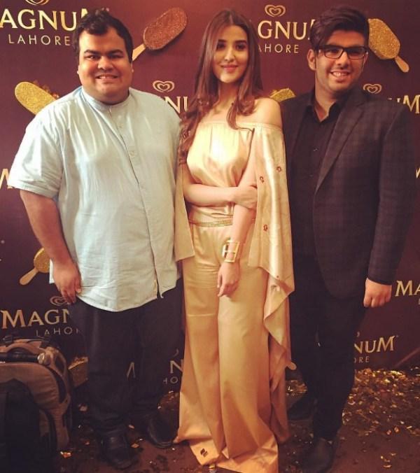 Hareem Farooq at Magnum Event Lahore