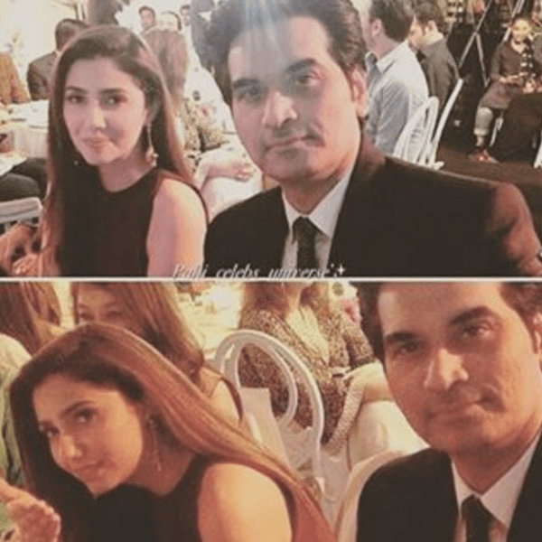 Mahira Khan and Humayun Saeed