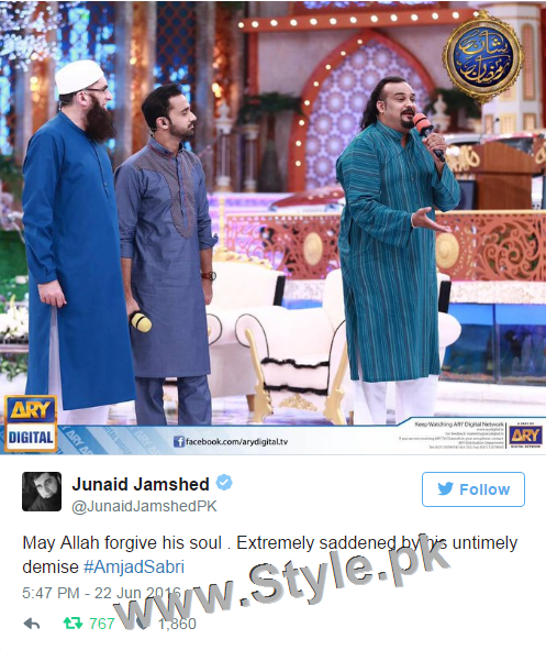 Nation Prays, Rest In Peace Amjad Sabri (9)