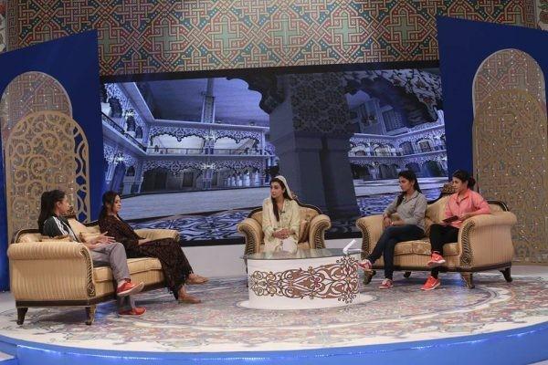 Pakistan Women Cricket Team in Ramzan Transmission (2)
