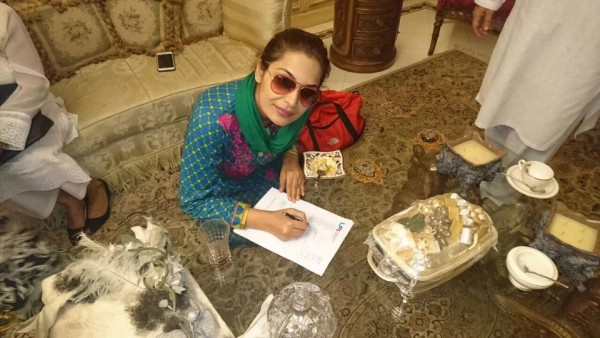 Pakistani Actors have submitted Application for Security (4)