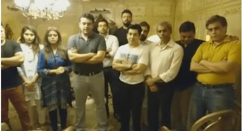 Pakistani Artists Unites Against Terrorism