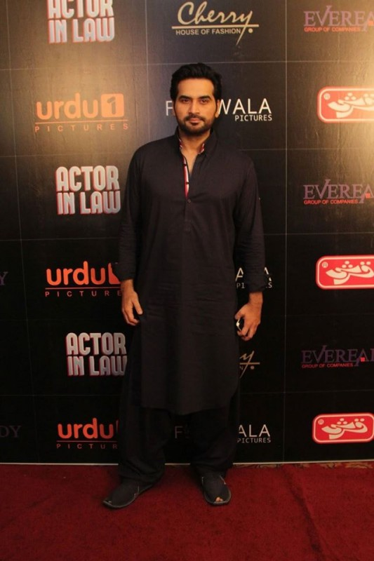Pakistani Celebrities at the trailer launch of Actor in Law (10)