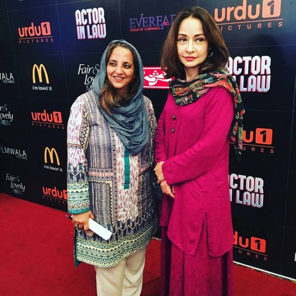 Pakistani Celebrities at the trailer launch of Actor in Law (16)