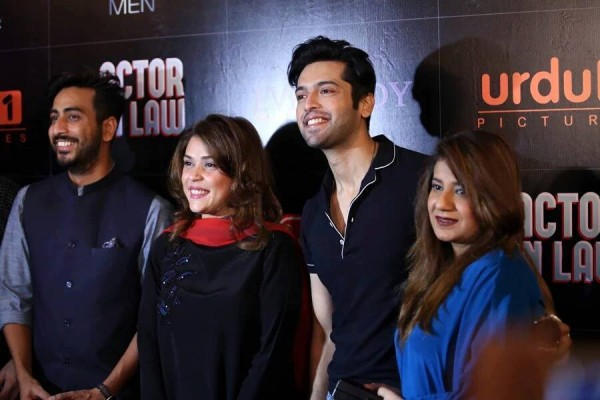 Pakistani Celebrities at the trailer launch of Actor in Law (17)