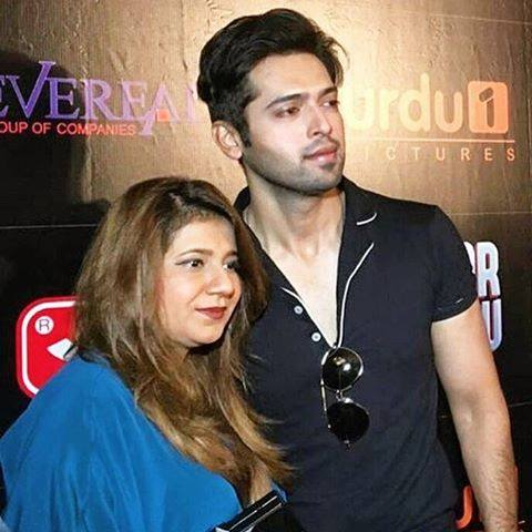 Pakistani Celebrities at the trailer launch of Actor in Law (20)