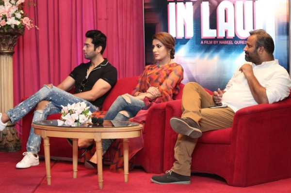 Pakistani Celebrities at the trailer launch of Actor in Law (25)