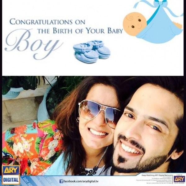 See Pakistani Celebrities blessed with baby in 2016