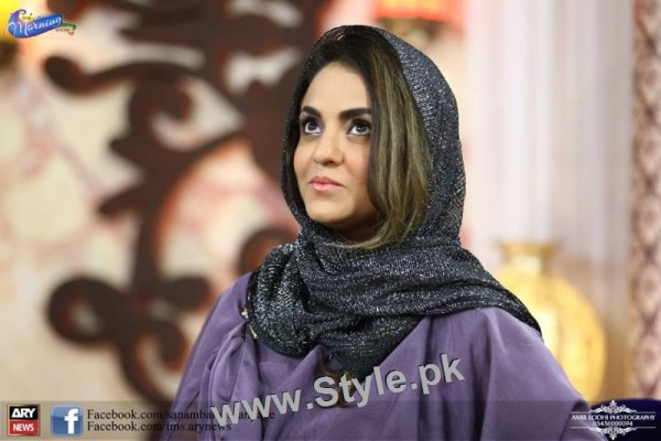See Recent Pictures of Nadia Khan in The Morning Show