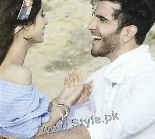 Romance of Sajal Ali and Feroze Khan in Zindagi Kitni Haseen Hai (3)