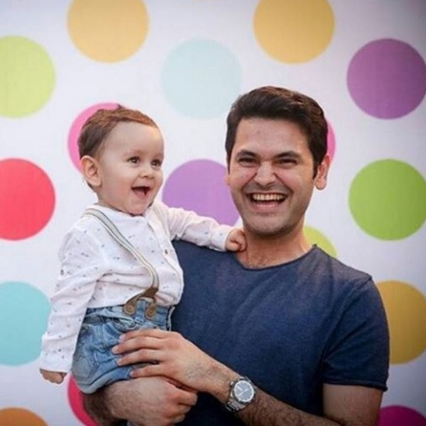 Sarwat Gillani and Fahad Mirza Baby