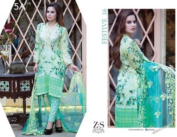 See Green Dress - Kalyan Eid Collection 2016