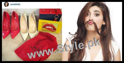 See Top 5 Pakistani Celebrities who love capturing their shoes