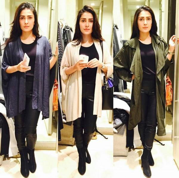See Which Shrug Looks Best on Ayeza Khan