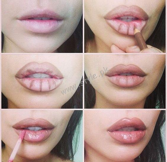 how to get fuller and plump lips naturally