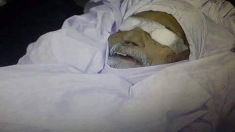 See Abdul Sattar Edhi donated his Eyes