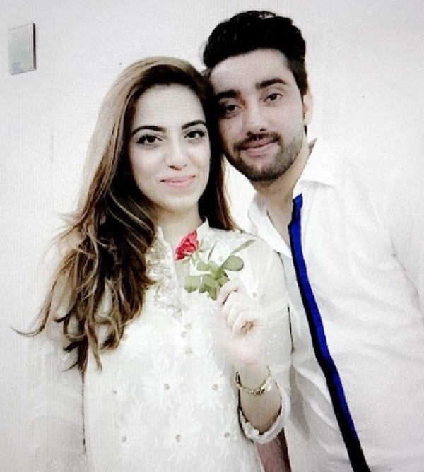 Amanat Ali Wife Sarah Manzoor