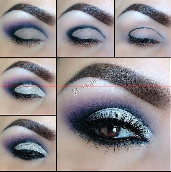 Blue Eyeliner Makeup Ideas00