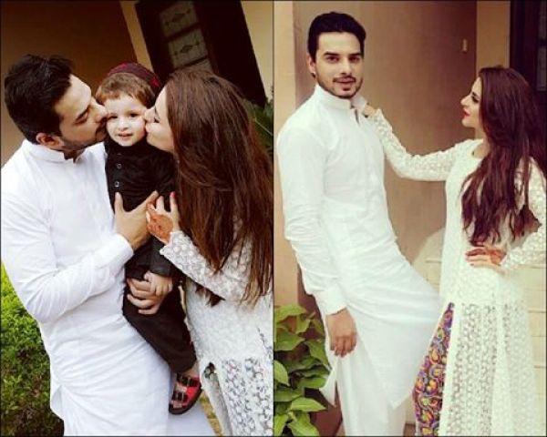Fatima Effendi And Arslan On Eid 2016