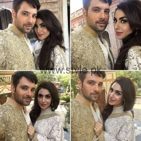 See First Photoshoot of Mikal Zulfiqar and his wife for Hello Pakistan