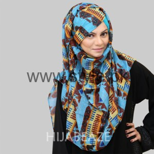 Hijabeaze Latest Hijab Collection 2016  (6)