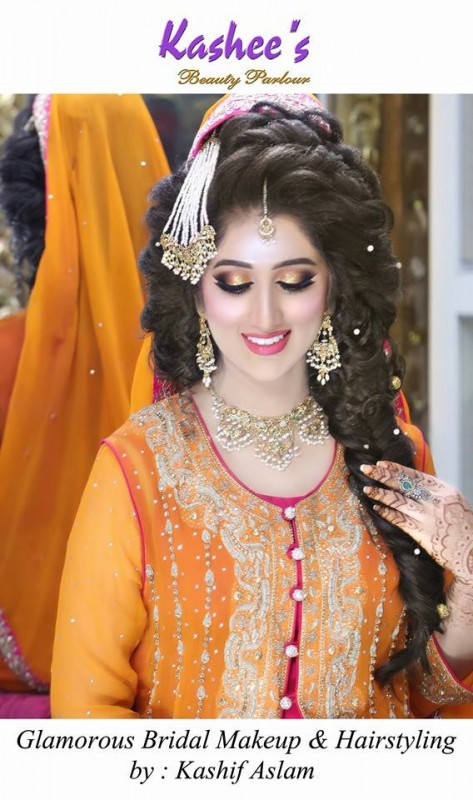 Mehndi makeup ideas