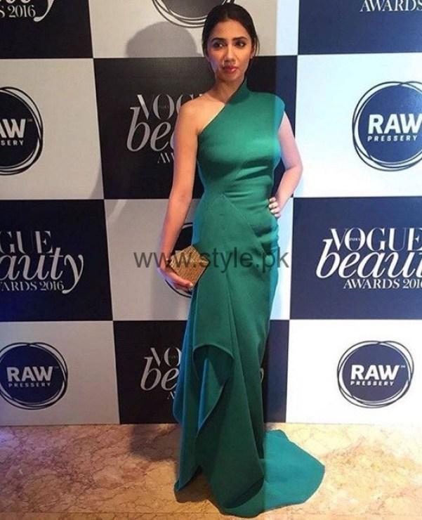 Mahira Khan at Vogue Beauty Awards