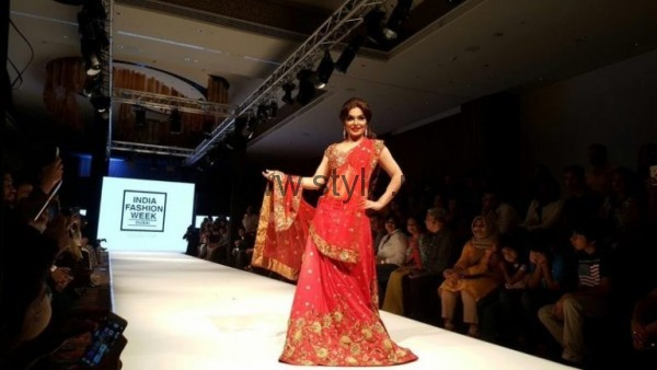 Meera's Modeling pictures from Indian Fashion Week 2016 (2)