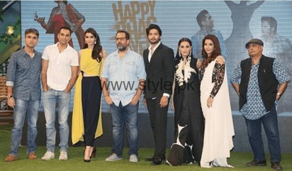 Momal Sheikh during promotion of her Bollywood movie Happy Bhag Jayegi (4)