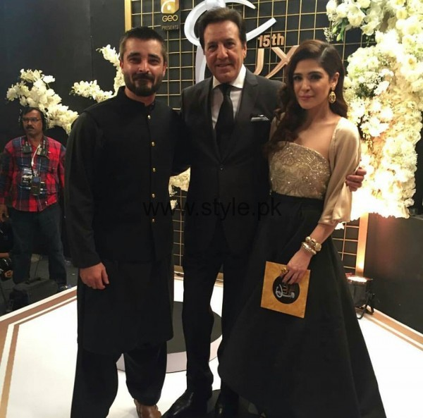 Pakistani Celebrities at Lux Style Awards 2016 (14)