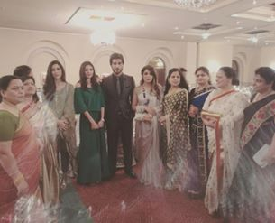 Pakistani Celebrities at dinner by High Commission India (2)