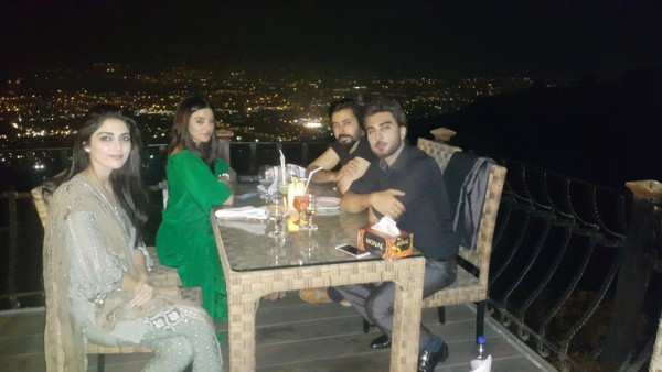 Pakistani Celebrities at dinner by High Commission India (8)