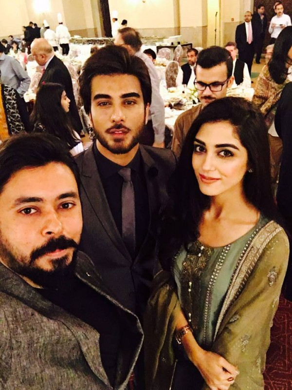 Pakistani Celebrities at dinner by High Commission India (9)