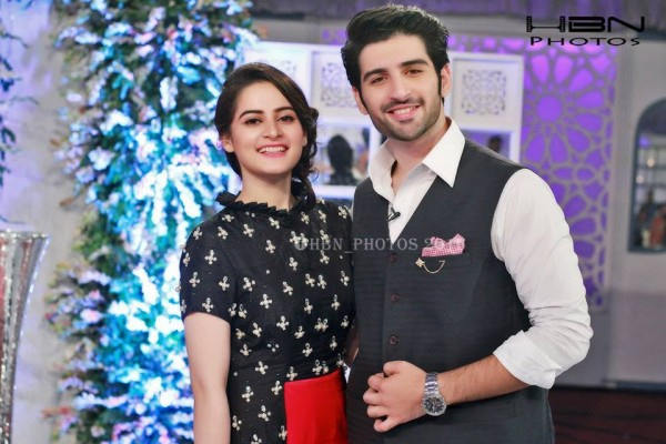 Recent Pictures of Beautiful Couple Aimen Khan and Muneeb Butt (6)
